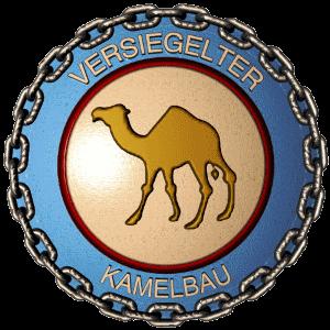 versiegelter Kamelbau