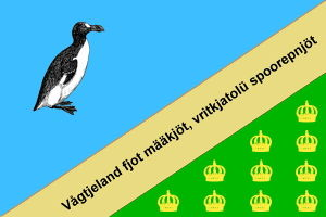 Flagge von Vågtjeland